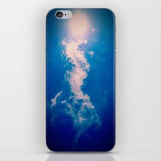 When the sun meets the cloud iPhone Skin
