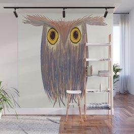 The Odd Owl Wall Mural