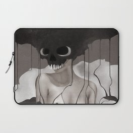 Death By Chocolate Monochrome Laptop Sleeve