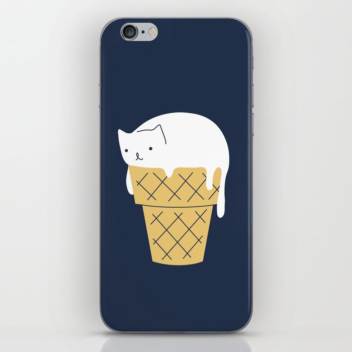Meowlting kitty 1 iPhone Skin