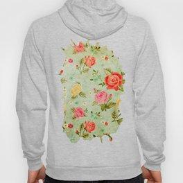 Grunge Floral Pattern 04 Hoody