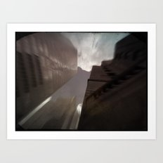Montreal city Art Print