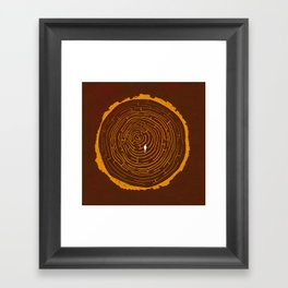 Stumped Framed Art Print