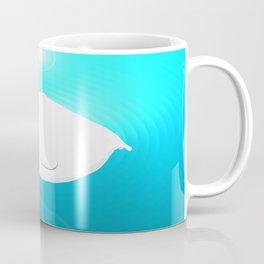 Fat Beluga Whale Coffee Mug