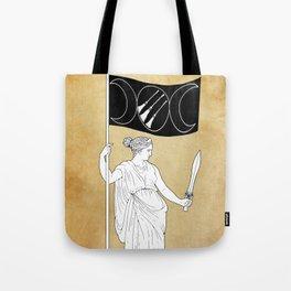 Goddess of Resistance Tote Bag