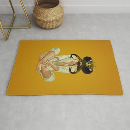 Buggin Out - mustard Rug