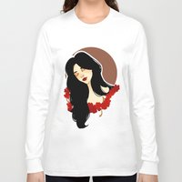 belle Long Sleeve T-shirts featuring belle by chazstity