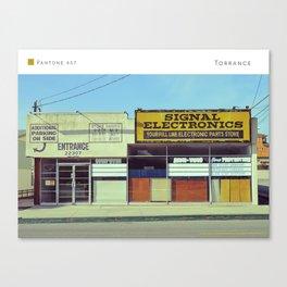 Pantone: Torrance Canvas Print