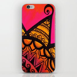 Rising Sun iPhone Skin