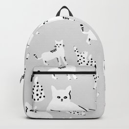 Cats X Grey Backpack