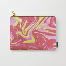 Paint Swirl One: Soleil (Hers) Carry-All Pouch