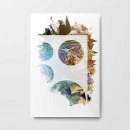 Nature forms - Sea rocks Metal Print