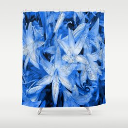 Blue... Shower Curtain
