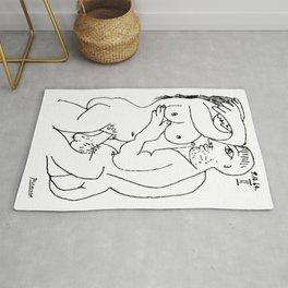 Pablo Picasso, Couple, 1964, Erotic Artwork, Tshirts, Prints, Posters, Bags, Men, Women Rug