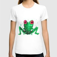 frog T-shirts featuring Frog by Bwiselizzy