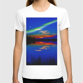 North light over a lake T-shirt