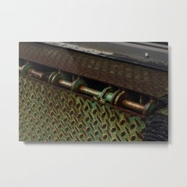 Green Metal - Seattle, WA Metal Print