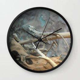 lizzards Wall Clock