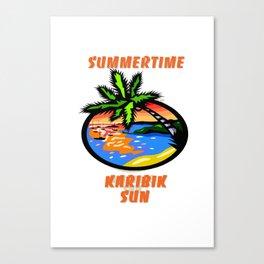 Summertime Canvas Print