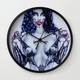 Darkest Mileena. Limited Edition - The Midnight Slayer Wall Clock
