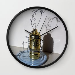 Mommy Relaxing Wall Clock