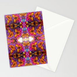 paper mache floral Stationery Cards