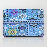 kilim iPad Cases featuring Aztec Kilim by EllaJo Design