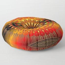 Fire Spirit Floor Pillow