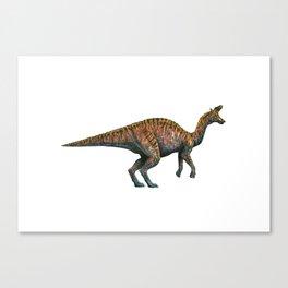 Lambeosaur Canvas Print