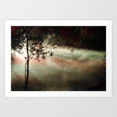 enchanted mist Art Print