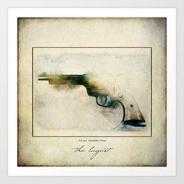 The LaGest 22 cal Double Nine Gun Art Print