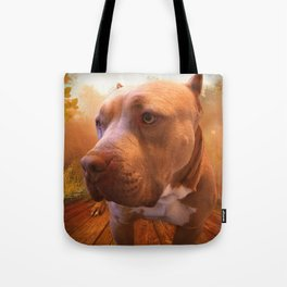 ARTHUR (shelter pup) Tote Bag