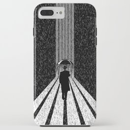Winter's Long Road iPhone Case