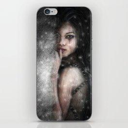 She Waits iPhone Skin