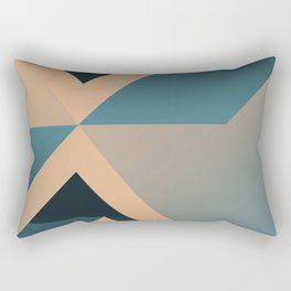 A Certain Shade of Blue Rectangular Pillow