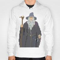 gandalf Hoodies featuring Gandalf Grey-bit by SamuelJay
