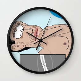 Should Have Tapped Wall Clock