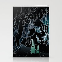 scary Stationery Cards featuring scary place     by Bunny Noir