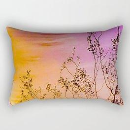 Joshua Tree Curtain of Shrubbery Rectangular Pillow