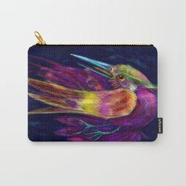Kingfisher falling La caida del Martin Pescador Carry-All Pouch