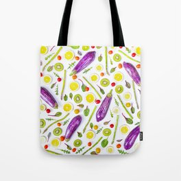 Fruits and vegetables pattern (29) Tote Bag