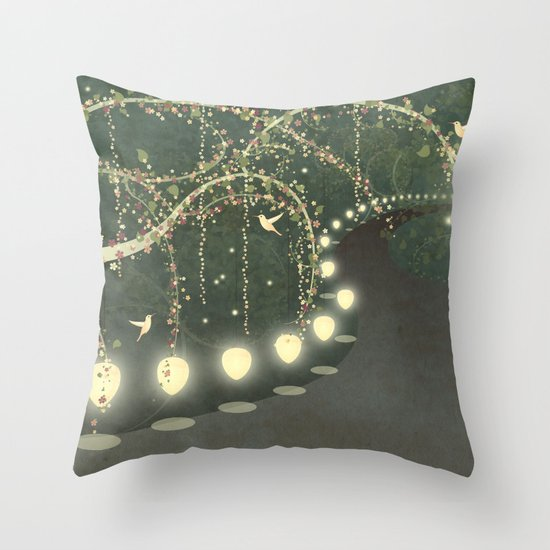 Guiding Lights Throw Pillow