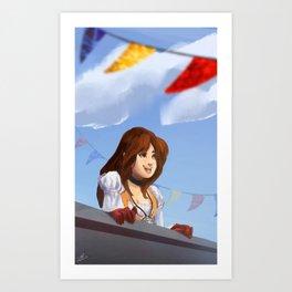 Garnet 'Dagger'   Final Fantasy IX Art Print
