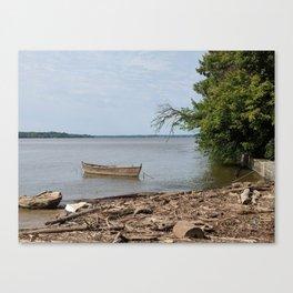 Tie the Raft Canvas Print