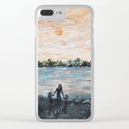 A Mother's Day Blessing Clear iPhone Case