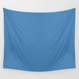 Steel blue Wall Tapestry