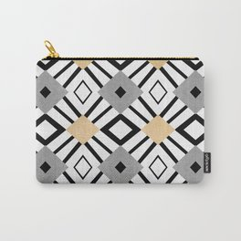 Gold Diamonds Carry-All Pouch