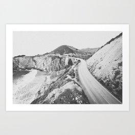 BIXBY BRIDGE / California Art Print