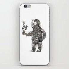 Leaf man iPhone & iPod Skin