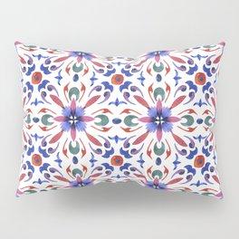 Floral ornament. Watercolor Pillow Sham